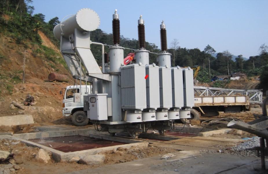 Lắp đặt trạm biến áp/ Installation Power transformer equipment